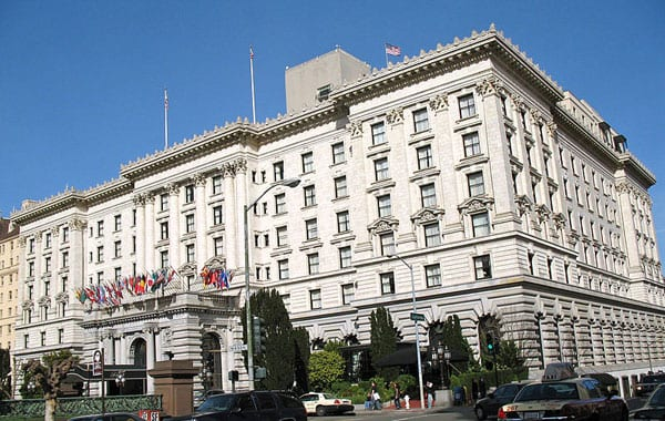 fairmont hotel in san francisco