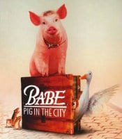 Dr. Savage was the set doctor for the movie babe pig in the city