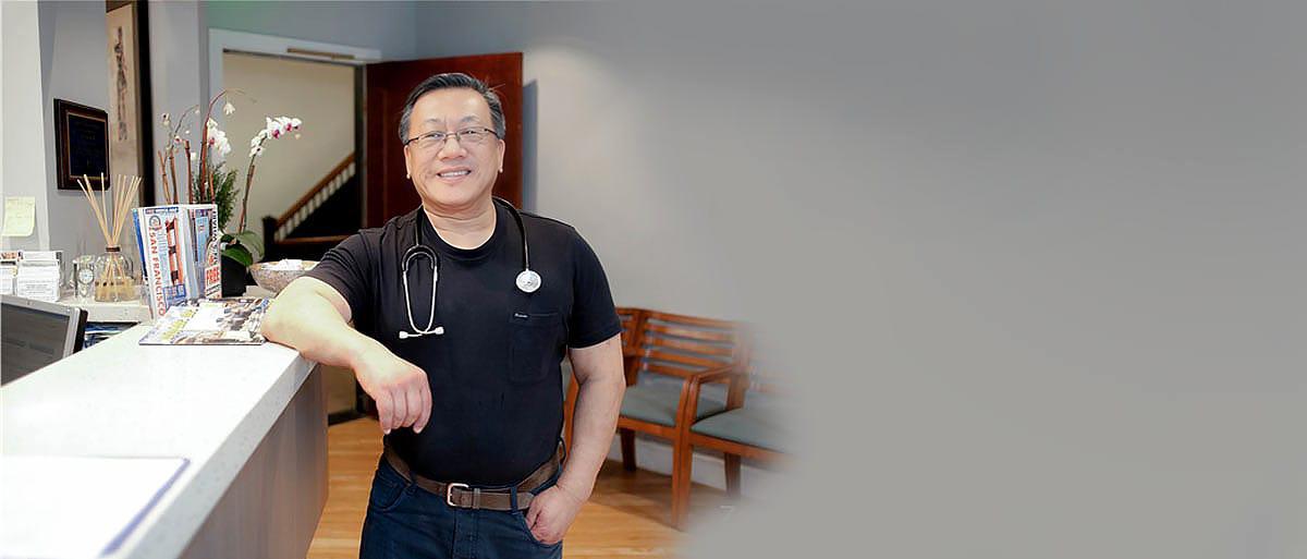 Doctor Jim Savage of Traveler Medical Group in Downtown San Francisco, California