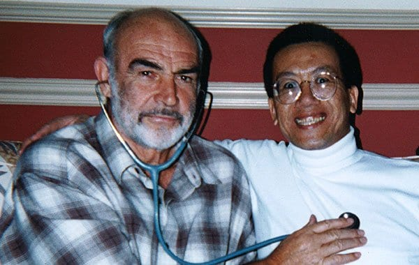 Dr. Jim Savage and Sean Connery