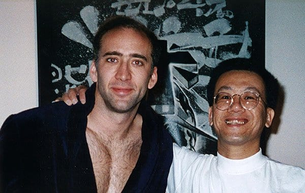 Dr. Jim Savage and Nicolas Cage