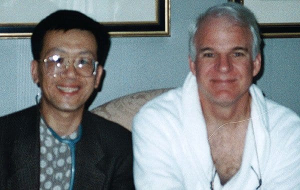 Dr. Jim Savage and Steve Martin