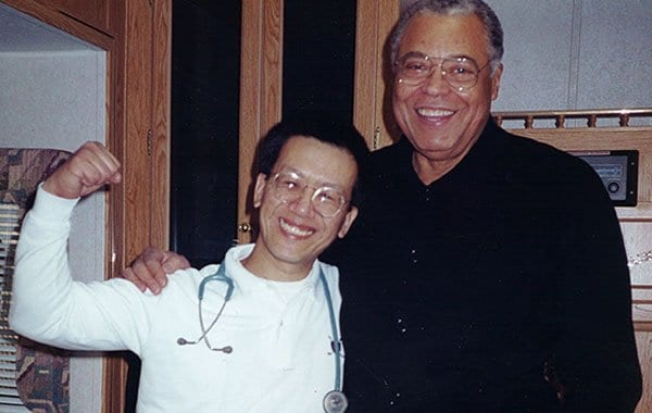 Dr. Jim Savage and james earl jones
