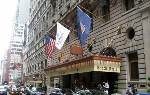 st. regis hotel in san francisco